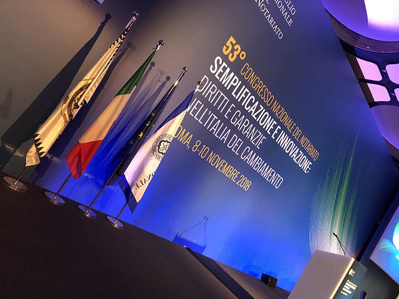 Inizio 53° Congresso Nazionale del Notariato