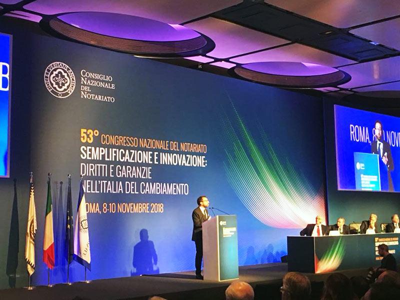 Alfonso Bonafede Congresso Nazionale del Notariato