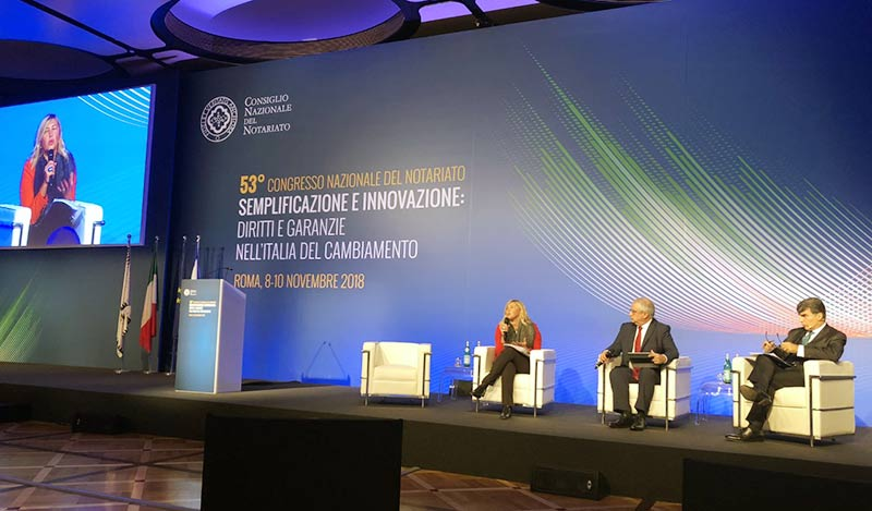 Intelligenza artificiale e tecnologie - Congresso Nazionale del Notariato 2018
