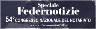 Speciale Congresso Nazionale del Notariato 2019 - Federnotizie