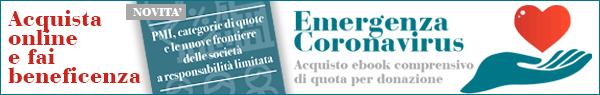 Emergenza Coronavirus - Compra un libro e fai beneficenza