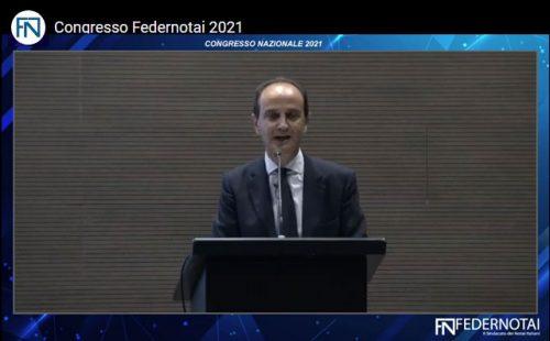 Giovanni Liotta Congresso Federnotai 2021