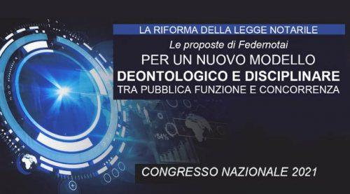 Congresso Federnotai 2021 Sintesi dei Lavori